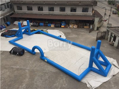 Blue Large Inflatable Football Pitch For Sale BY-SP-087