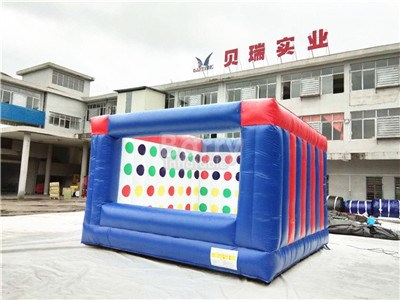Outdoor Sport Game 3D Inflatable Twister Game For Sale BY-IG-071