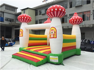 Mushroom moon bounce for sale  BY-BH-061
