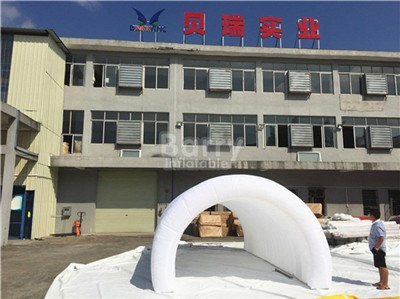 White giant led inflatable shelter tunnel tent for sale BY-IT-055