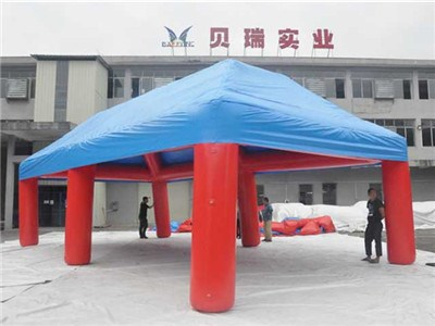 Advertising red inflatable tent china, commercial 4 legs inflatable spider BY-IT-058