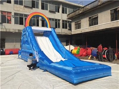 commercial kids small inflatable water slides for sale BY-WS-124