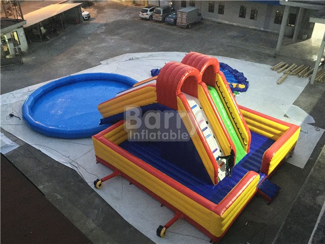Inflatable World Prices Inflatable Waterparks , Bounce House Water Park BY-AWP-115