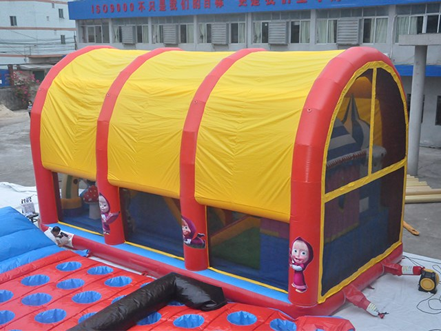 Giant Inflatable Theme Park With Cover Tent IP-088