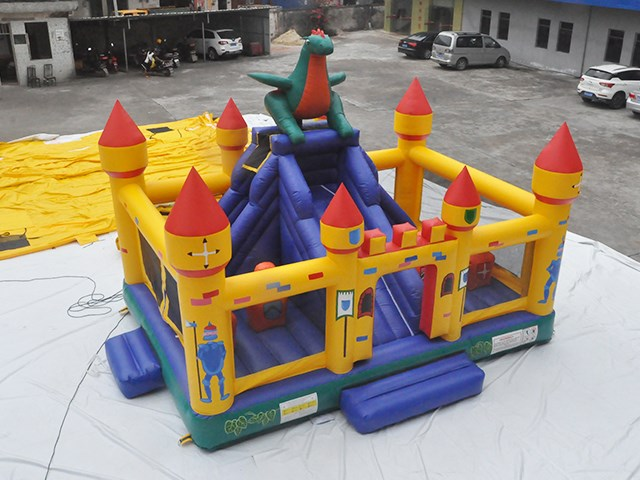 Large Dragon Inflatable Amusement Park,Playground Inflatables BY-IP-085