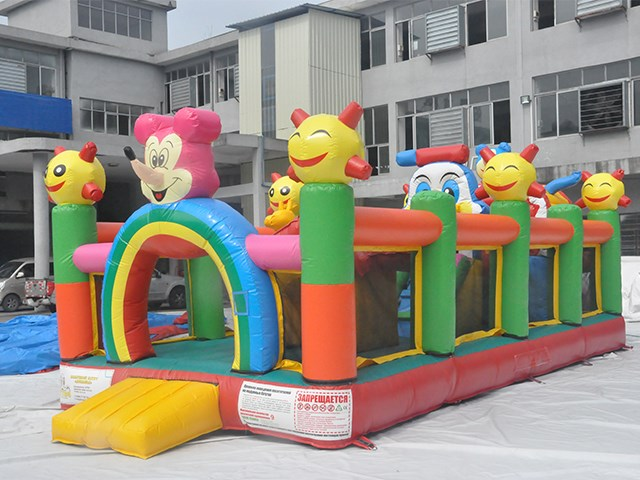 The cartoon playground inflatables kids toys for sale