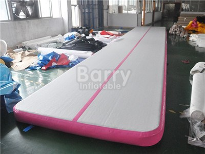 Wholesale Pink Inflatable Tumble Track For Sale BY-AT-022