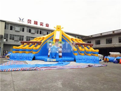 SpongeBob Inflatable Pool Slide For Sale BY-WS-131