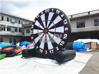 4mh,6mH High Quality Dart Score Board Inflatable Soccer Kick Foot Darts Board For Sale BY-SP-092