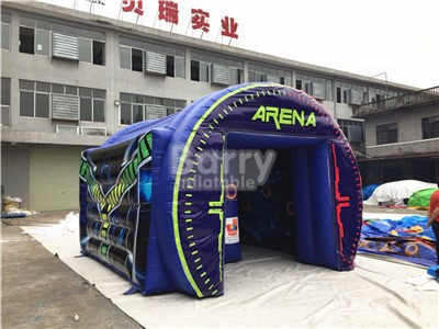Tag The Light Inflatable Interactive Arena Game 2 Player High Energy Game  BY-IG-079