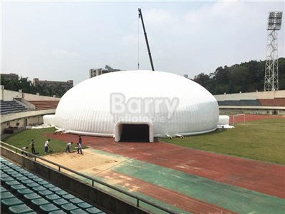 outdoor large dia 40m white cheap inflatable dome event tent for sale BY-IT-063
