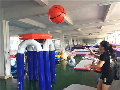 China inflatable supplier,blowup basketball hoop BY-IG-080