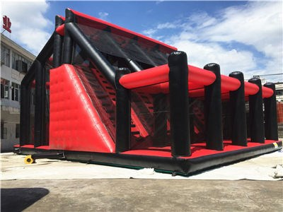 Stimulating Inflatable Jumping Tower Game  BY-IG-084