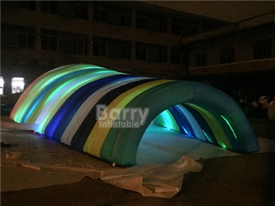 Outdoor event advertising inflatable lighting LED tents, giant inflatable party tent with LED Light decoration BY-IT-042