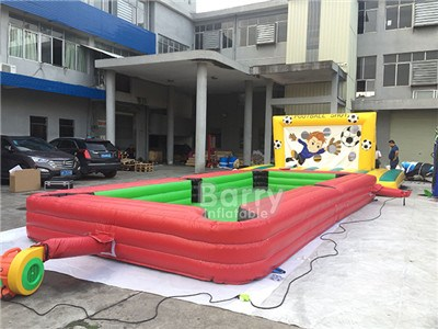 Inflatable Snooker Football Field, Inflatable Snooker Ball Game BY-SG-099