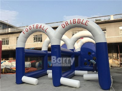 Large Inflatable Soccer Game Football Soccer Dribble Zone For Sale BY-SG-100