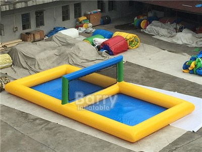 Wholesale Price inflatable beach volleyball court sports games inflatable water volleyball field BY-AT-101
