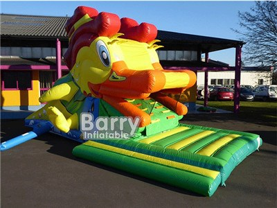 Duck Inflatable Water Slide For Pool  BY-WS-125