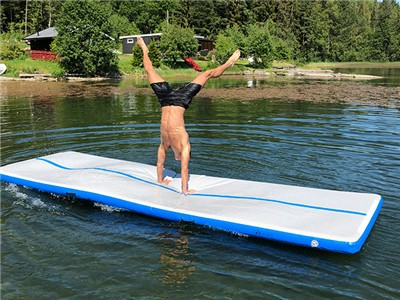 Fitness Water Sport  Inflatable Aqua Water Floating Yoga Mat