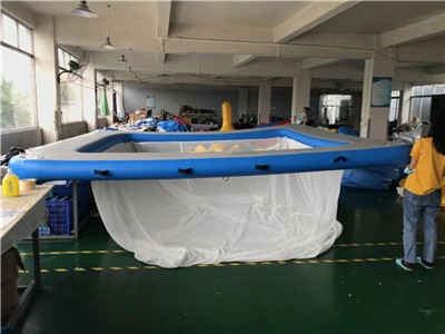 Protective Anti Jellyfish Pool With Netting Enclosure For Yacht